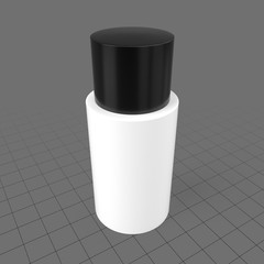Small shampoo container