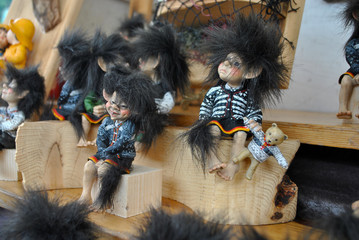 Norwegian Small Troll Figure