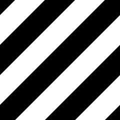 background diagonal line stripes seamless pattern black & white color vector