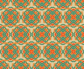 Arabic seamless ornament pattern. Ornamental decorative pattern background