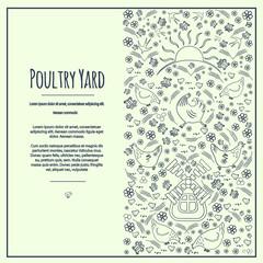 Poultry Yard frem 6