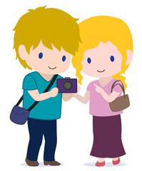 旅する恋人たち カメラと夏服 タイプA