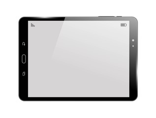 Realistic tablet vector