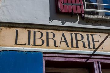 enseigne librairie