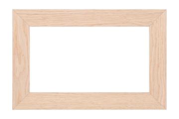 blank wood frame