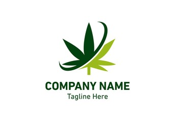 Cannabis logo vector