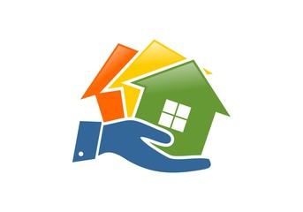 Home marketing logo