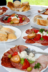 Meat catering