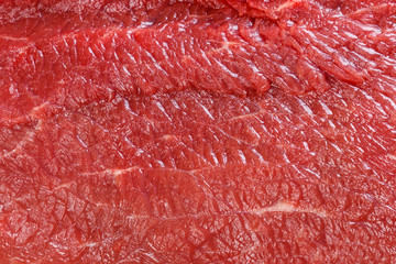 Photo sur Plexiglas Viande Raw red beef meat macro texture or background