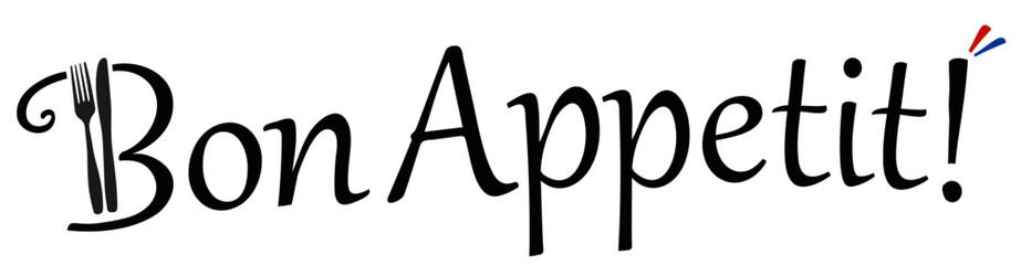 Bon Appetit! Vektor Logo
