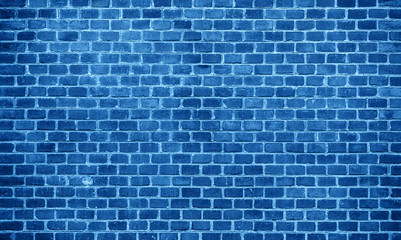blue brickwall background