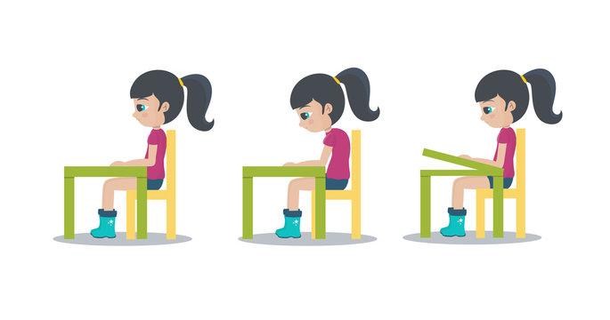 Cuidar la espalda en el colegio