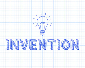 Invention Light Bulb Graph Paper