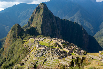 Wall Murals South America Country Machu Picchu, the lost city of inca