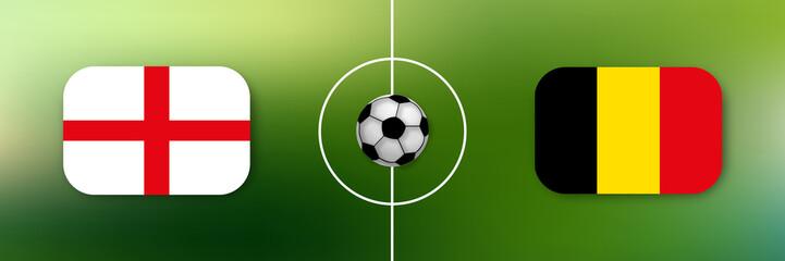 Fußball - England gegen Belgien