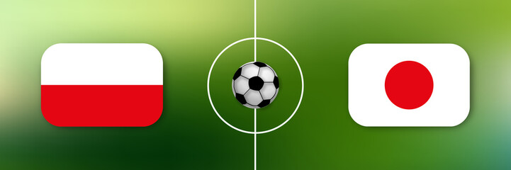 Fußball - Japan gegen Polen