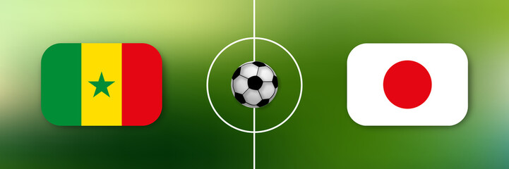 Fußball - Senegal gegen Japan