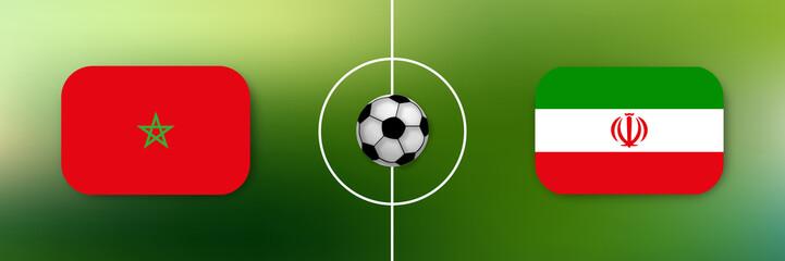 Fußball - Marokko gegen Iran