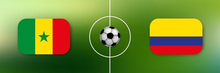 Fußball - Senegal gegen Kolumbien