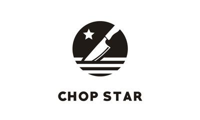 Chop / Chef Knife logo design inspiration