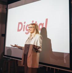 Woman Making Business Presentation