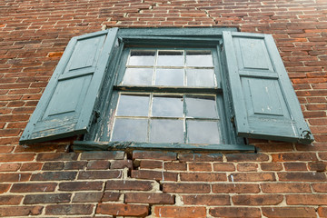Old Warehouse Window