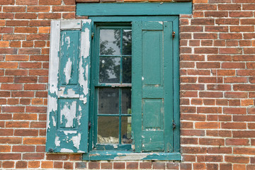Warehouse Window with Shutter
