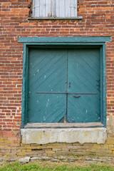 Old Warehouse Loading Door