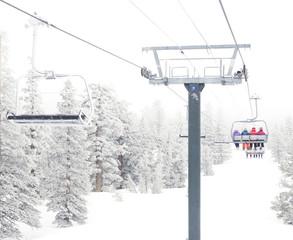 Ski Chair Lift Views