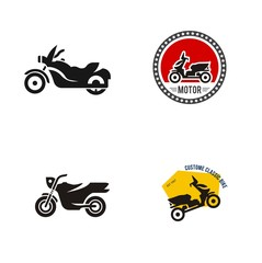 vintage motorcycle logo