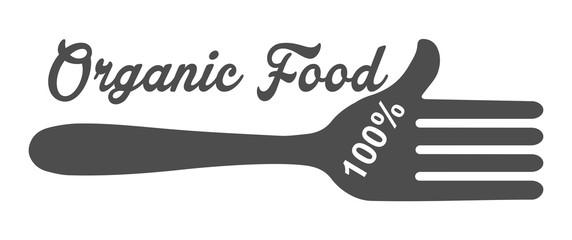 Указатель. Органическая еда 100%.