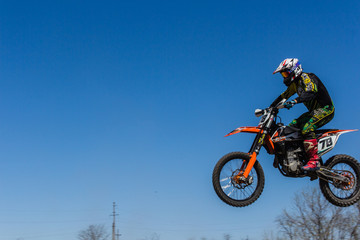 Footage from the spring motocross championship