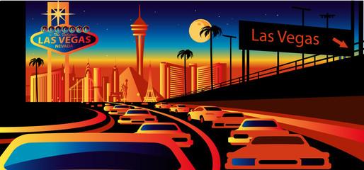 Wall Mural - Las Vegas Skyline