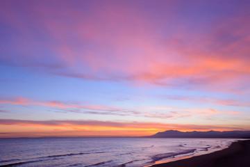 Playa de las Chapas-Elviria, Marbella, Andalusia, Spain