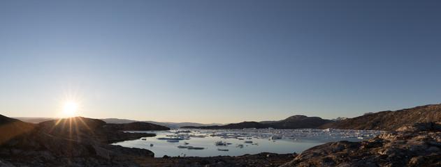 Die Wildnis von Grönland - Arktis