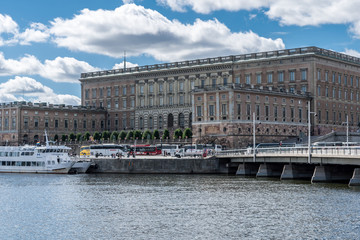 Keuken foto achterwand Theater View on Stockholm Palace