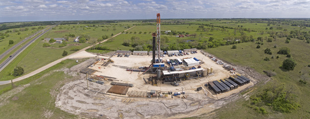 Central Texas Drilling Rig