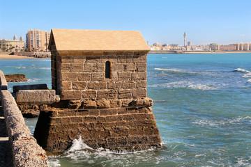 Wachhaus am Kastell San Sebastian