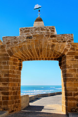 Tor zum Kastell San Sebastian