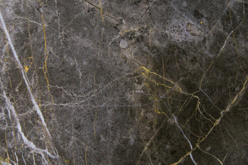Black marble texture background closeup
