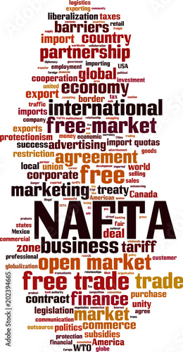 Nafta Word Cloud Stock Image And Royalty Free Vector Files On