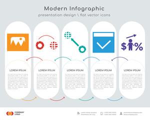 photo infographics design