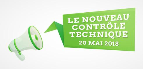Nouveau contrôle technique - 20 mai 2018