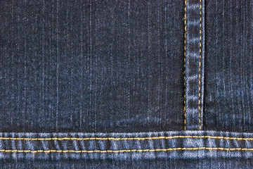 Abstract background and texture of jean