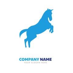 rearing horse company logo design