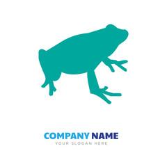 black frog company logo design