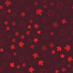 Canada seamless pattern. Happy Canada day.