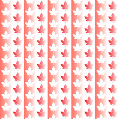 Canada seamless pattern. Happy Canada day.