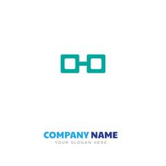 Glasses company logo design