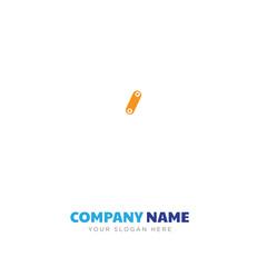 Curling hair company logo design